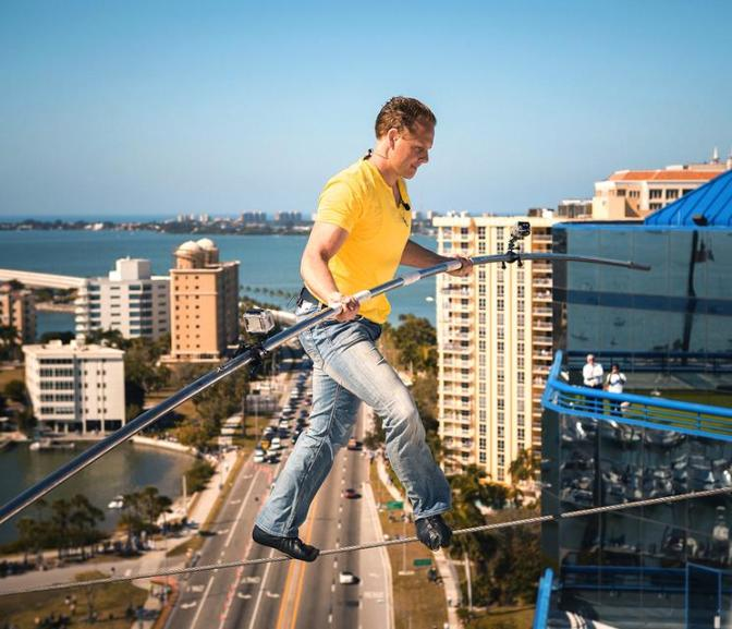 Wallenda to do Chicago Skywalk Blindfolded