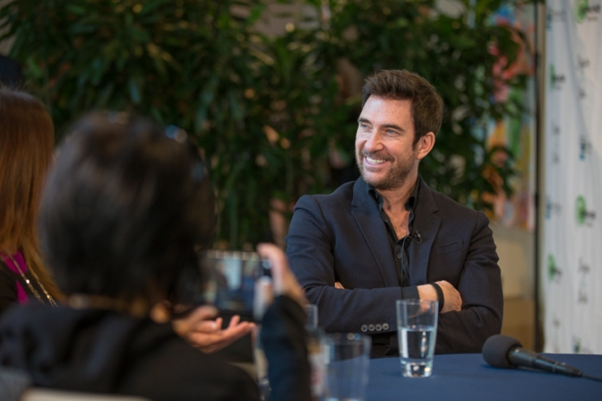 Dylan McDermott Supports Selah Freedom, Prepares for 'Sugar'